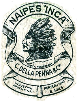 Naipes Inca logo c.1930-1942