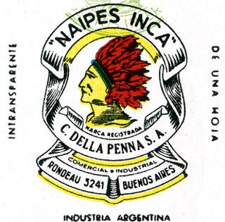 Naipes Inca logo c.1943-1964