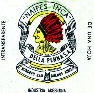 Naipes Inca logo c.1965-1970