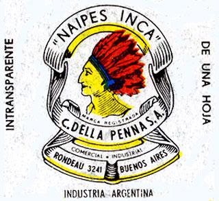Naipes Inca logo c.1970-1978