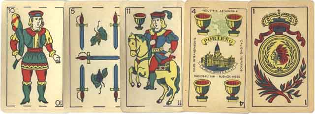 Naipes Porteño c1945