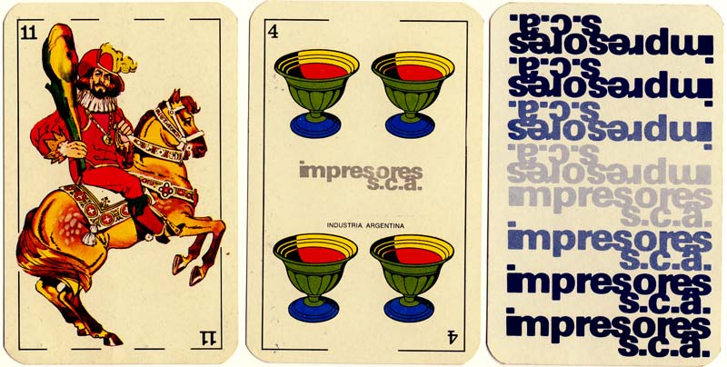 Naipes Minifusor - Impresores S.C.A.