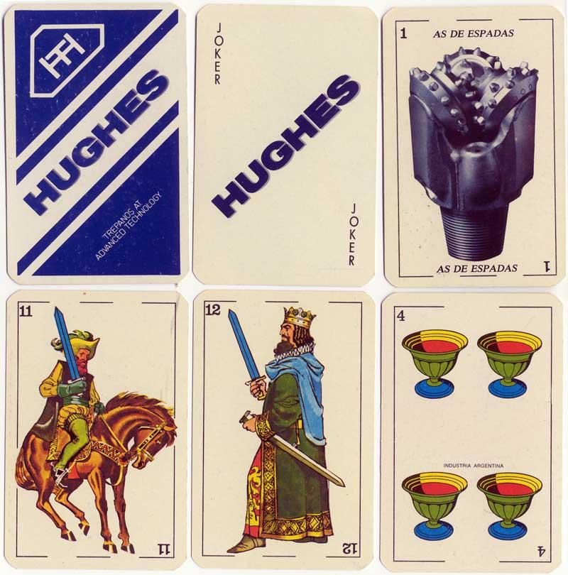 Naipes Minifusor - Hughes