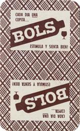 Naipes La Estrella para Ginebra Bols, hacia 1955