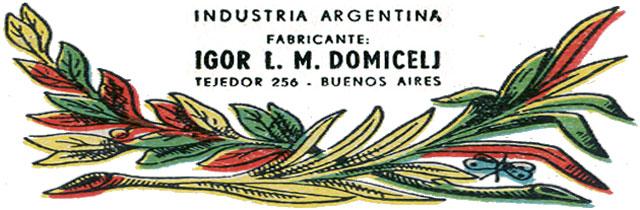 Igor L. M. Domicelj, fabricante de naipes