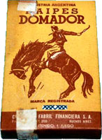 Naipes Domador box, c.1960