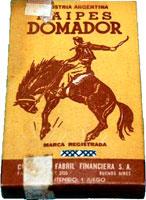Naipes Domador box, c.1960