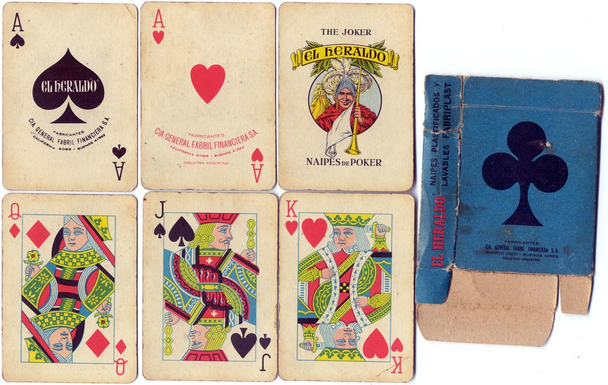 Naipes 'El Heraldo' c.1976