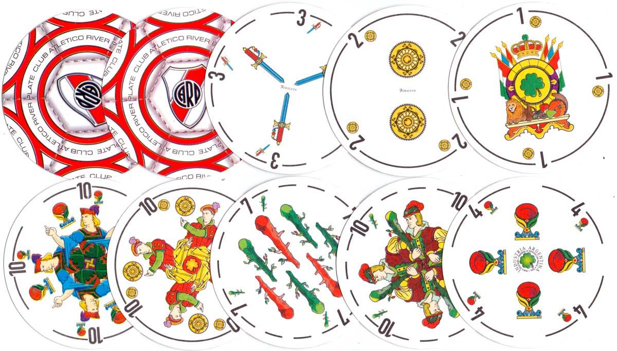 Circular version of Naipes Feroleto, c.2005