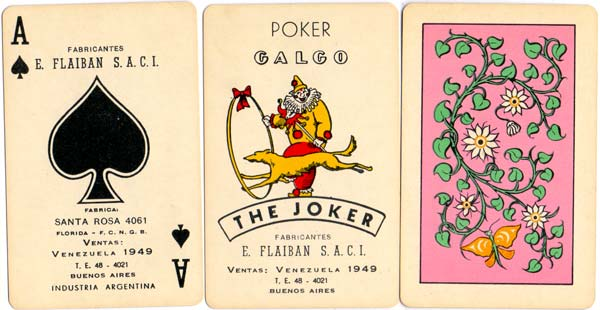 Naipes Galgo, c.1970