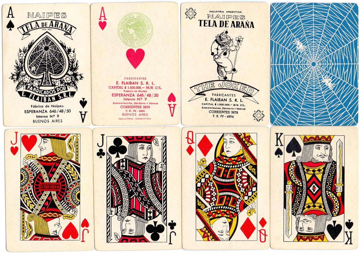Poker Tela de Araña manufactured by Flaiban S.R.L. in c.1950