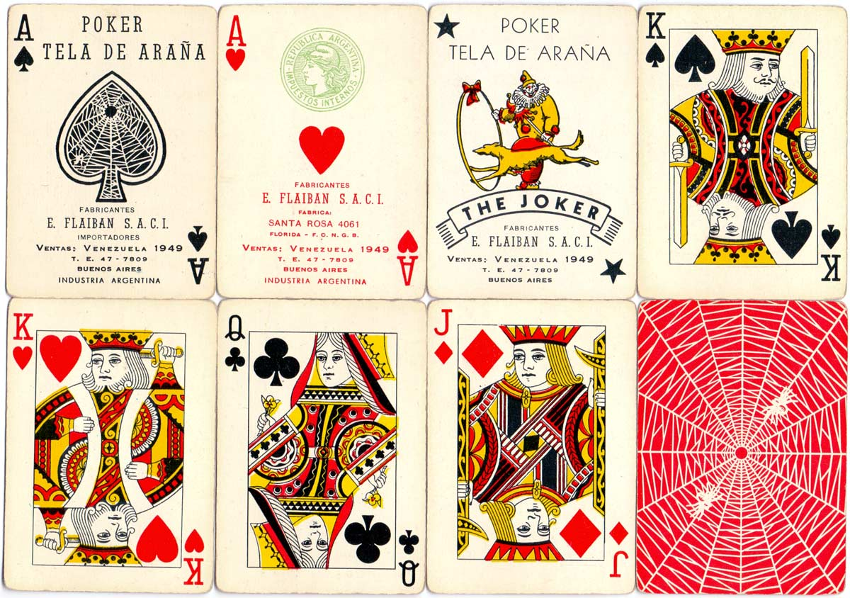 Poker Tela de Araña manufactured by Flaiban S.A.C.I. in c.1960