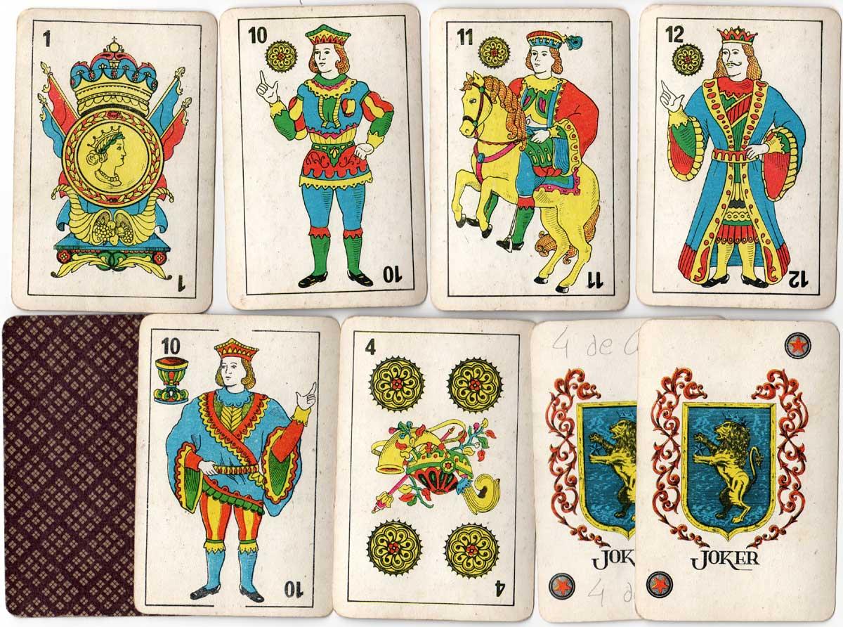 """""""Plastic Spanish Cards"""", c.1974"""
