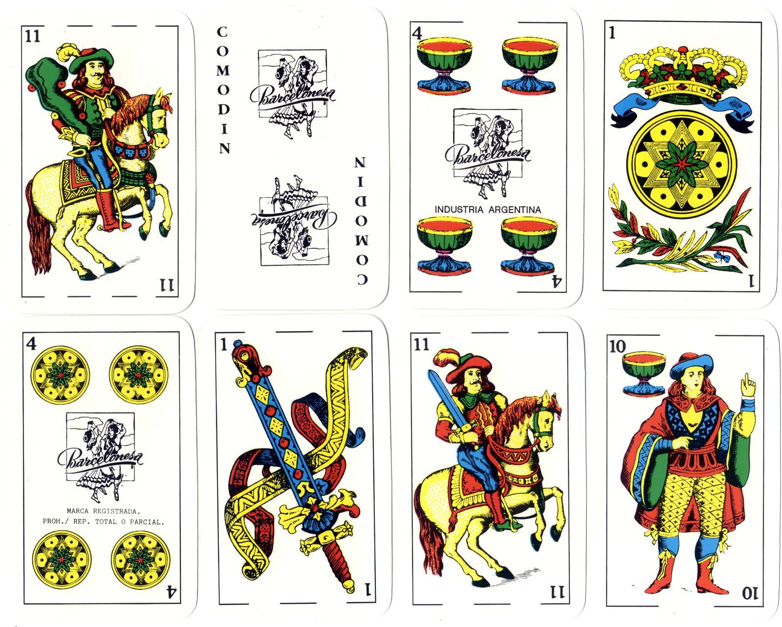 Barcelonesa playing cards, Gráfica 2001