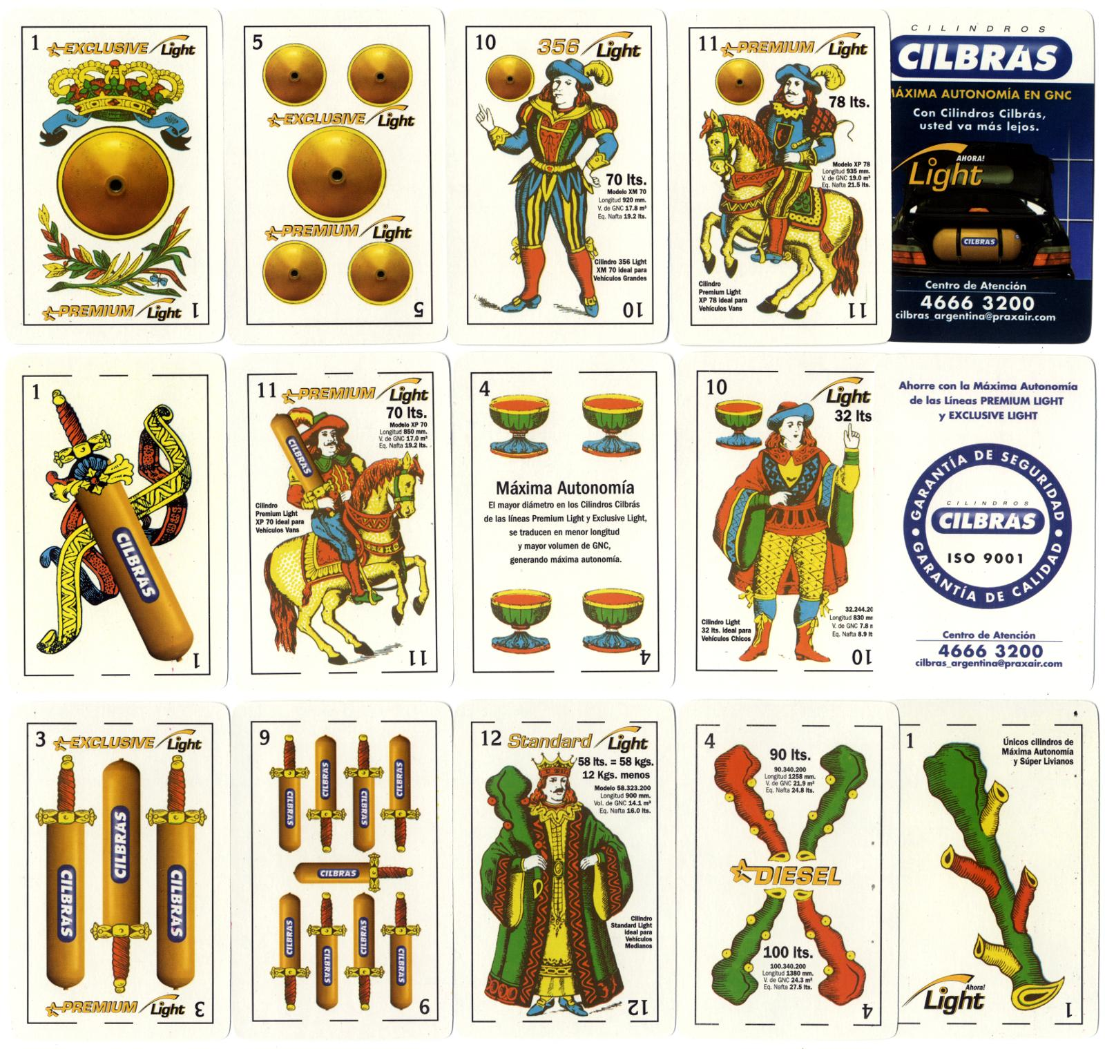 special pack manufactured by Gráfica 2001 for Cilbrás, Buenos Aires