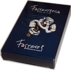 box from special pack manufactured by Gráfica 2001 for Fastener S.R.L., Buenos Aires