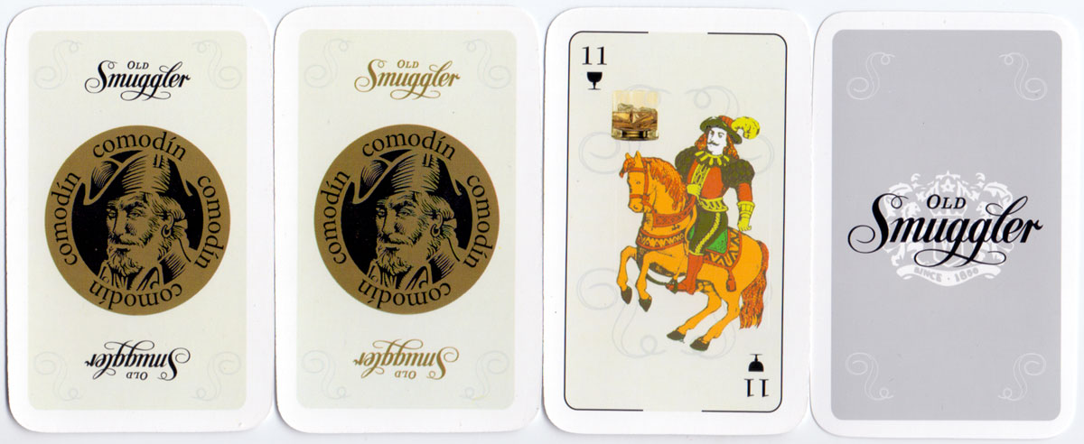 Old Smuggler Whisky playing cards manufactured by Gráfica 2001, Argentina