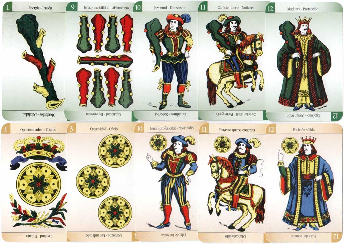El Oráculo de la Bruja fortune-telling cards, 2003