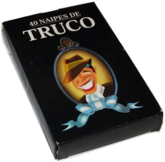 box from Naipes de Truco manufactured by Gráfica 2001 for Editorial Perfil, Buenos Aires, 1999