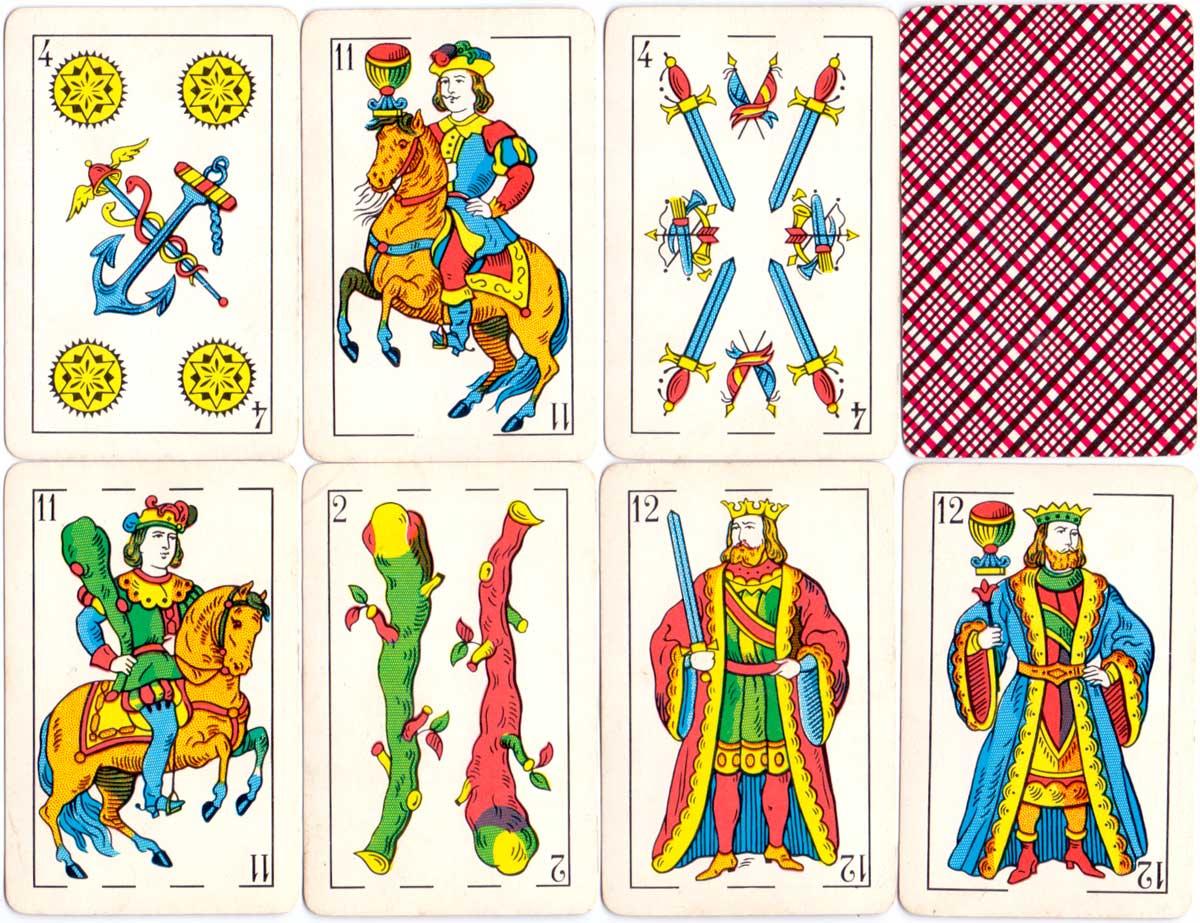 Naipes Escolazo made by Gráfica S.A., c.1978