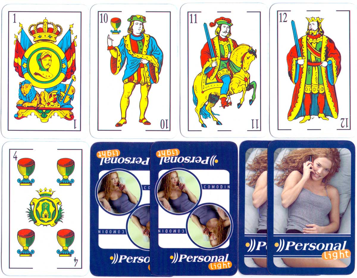 advertising deck by Gráfica S.A. for Argentina Telecom Personal Light, 2004