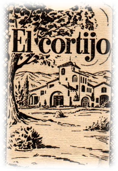 detail from box, Naipes El Cortijo by Alvarez Holmberg y Cía, Buenos Aires, c.1950-70