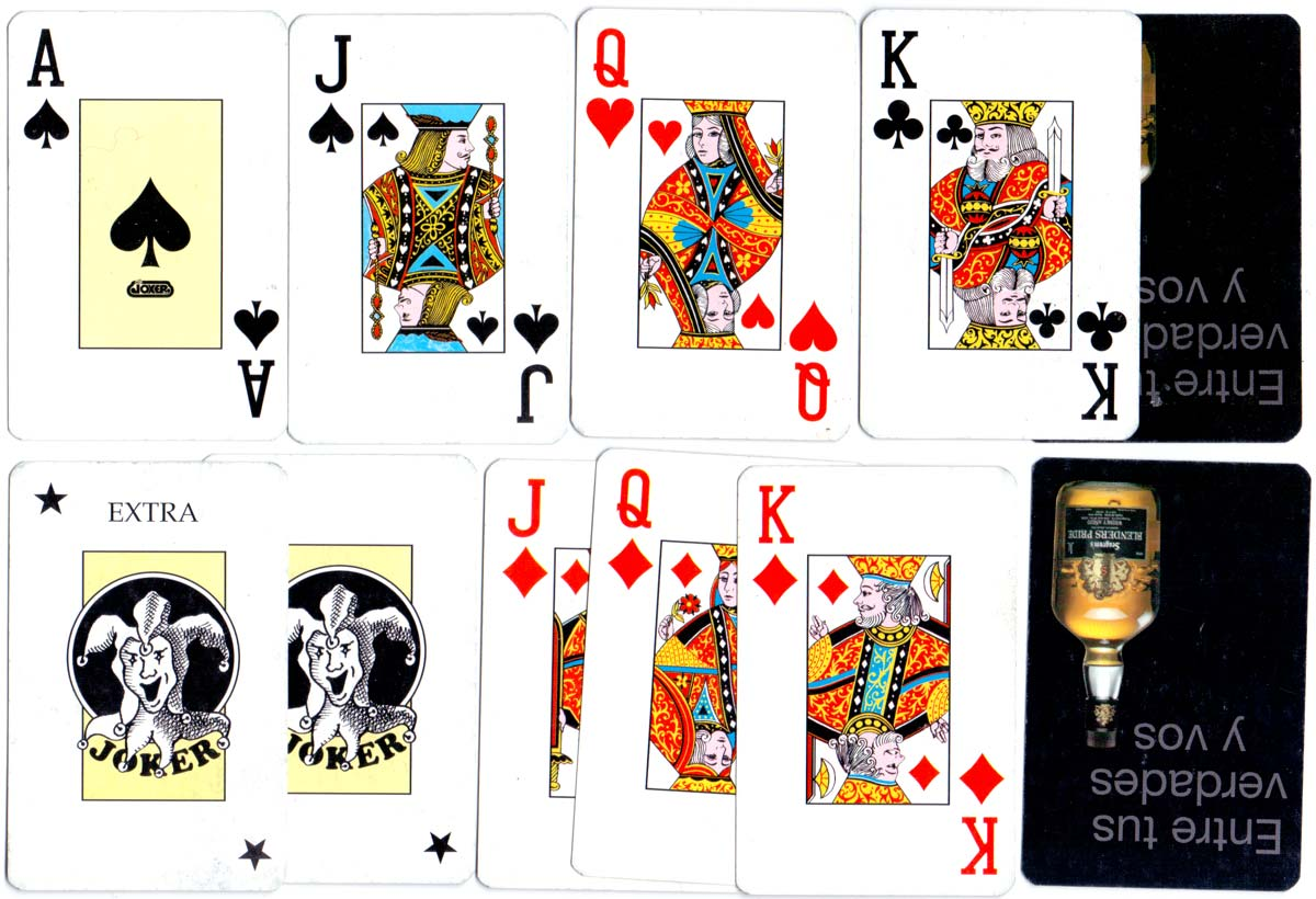 deck for Blenders Whisky with jumbo indices manufactured by Joker, S.A., c.2006