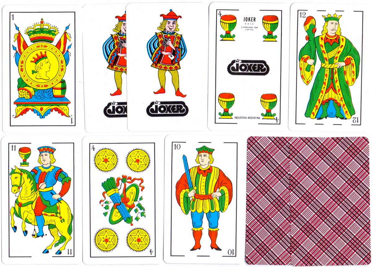 Cuatro Palos Naipes Españoles, 48 cards + 2 jokers, c.2005