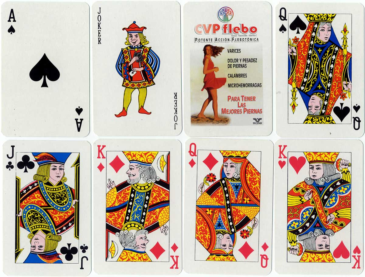 Advertising playing cards by Joker S.A.
