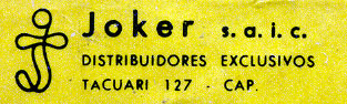 Naipes Victoria, c.1979