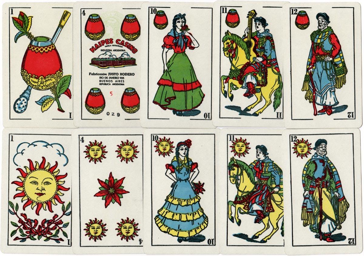 Naipes Casino Estilo Argentino, c.1955