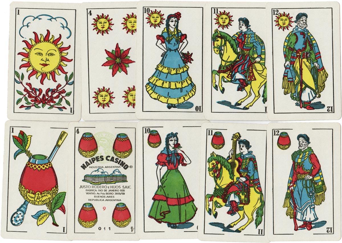 Naipes Casino Estilo Argentino, c.1968