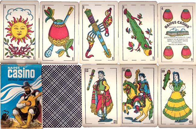 Naipes Casino Estilo Argentino, c.1970