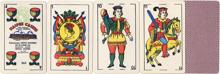 Justo Rodero Naipes Casino, c.1955