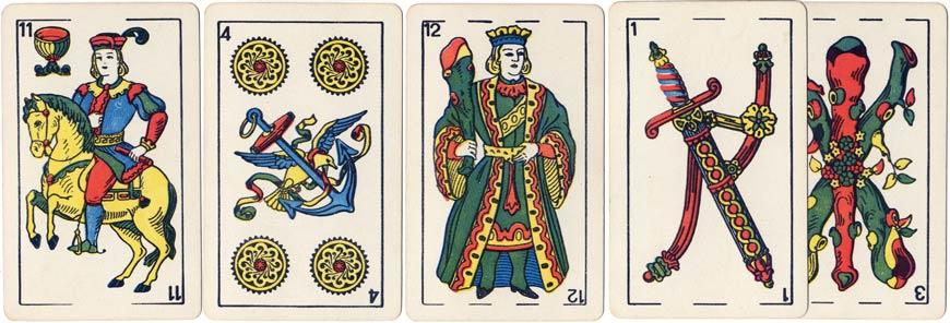 Justo Rodero, Naipes Casino, c.1955