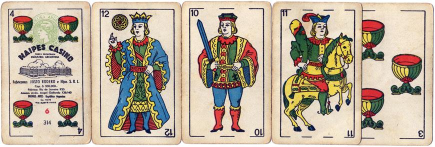 Justo Rodero Naipes Casino, c.1956