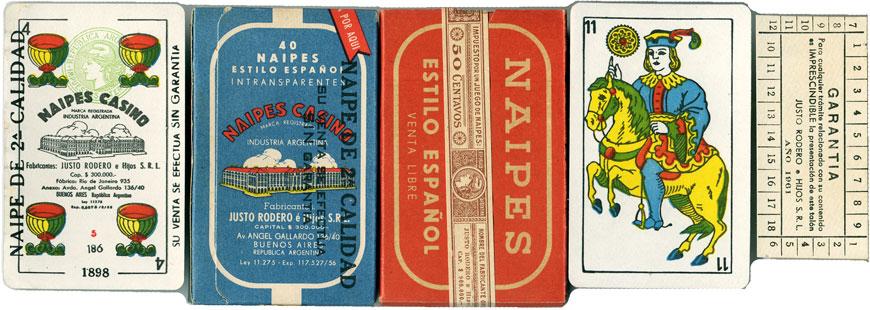 Justo Rodero Naipes Casino, c.1961