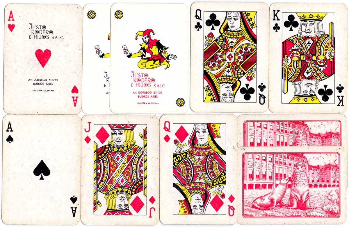 Naipes Casino de Poker Lobito by Justo Rodero e Hijos S.A.I.C., c.1980-90