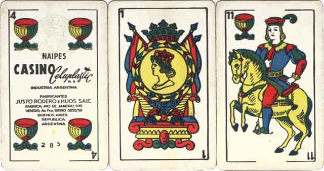 Naipes Casino, c.1970