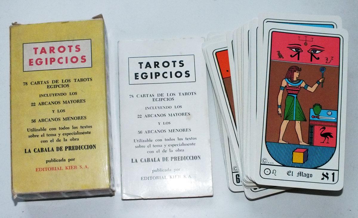 Tarots Egipcios Kier, c.1971