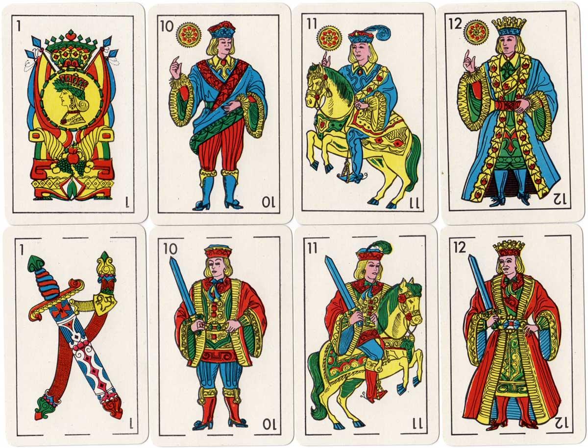 Naipes La Banca's modern Catalan style deck