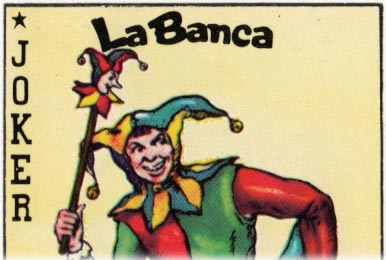Naipes La Banca's logo