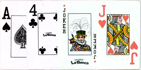 Naipes La Banca's Jumbo-index Anglo-American style deck