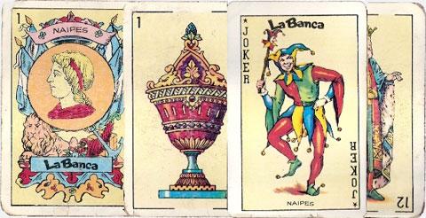 Naipes La Banca's Castilian style deck