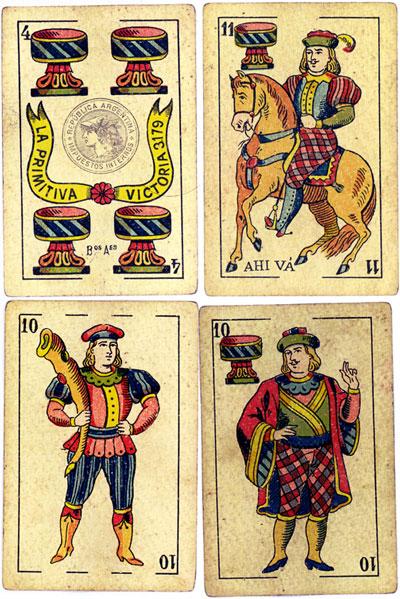 Cadiz style by La Primitiva, Bs Aires c.1905