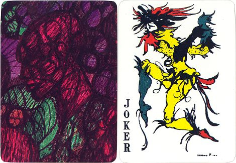 Joker designed by Argentinian artist Leonor Fini