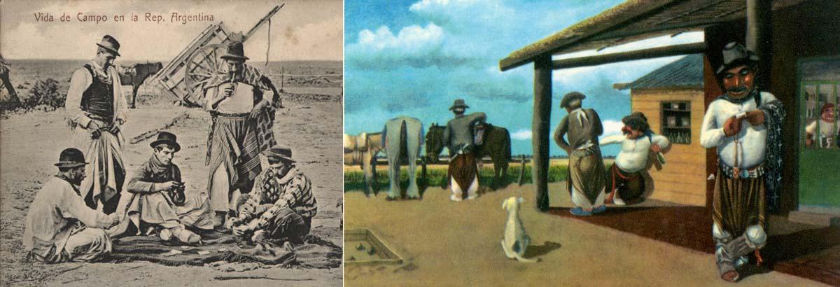Vida de Campo en la República Argentina - Haciendo Tiempo