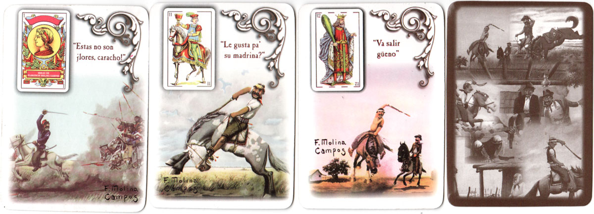 Unofficial Edition of Molina Campos playing cards, 2004