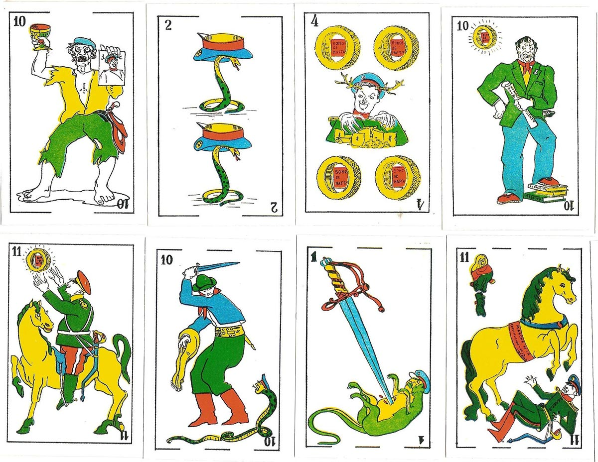 Anti-Peronist reproduction deck