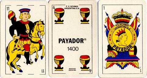 Naipes Payador 1400